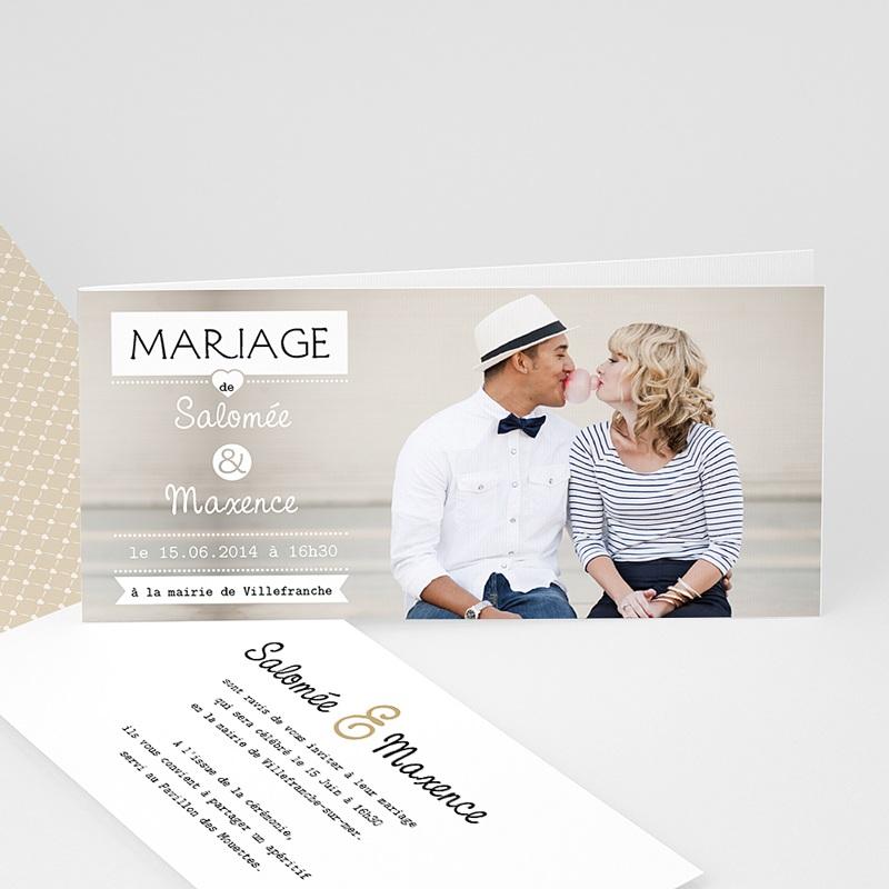 Faire-part mariage Graphic Chic