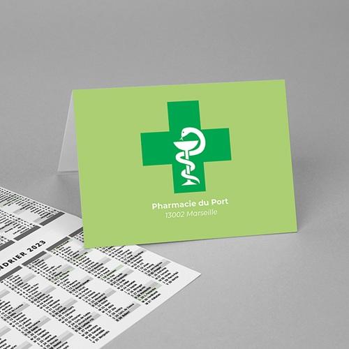 Calendrier de Poche 2020 Pharmacie, vacances scolaires et jours fériés