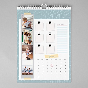 Calendrier mural a3 grands-parents pas cher