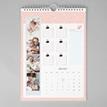 Calendrier Mural A3 Fille