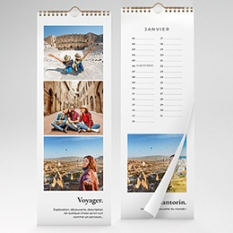 Calendrier Loisirs Voyage
