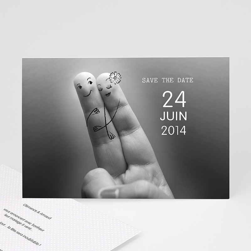 Save-The-Date - Deux amoureux 23190 thumb