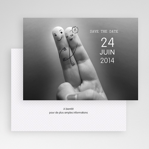 Save-The-Date - Deux amoureux 23192 preview