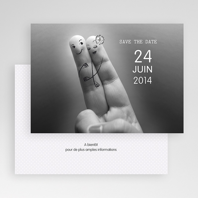 Save-The-Date - Deux amoureux 23192 thumb