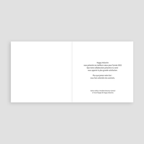 Carte de Voeux Professionnelle - Compteur Nouvel An 23213 thumb