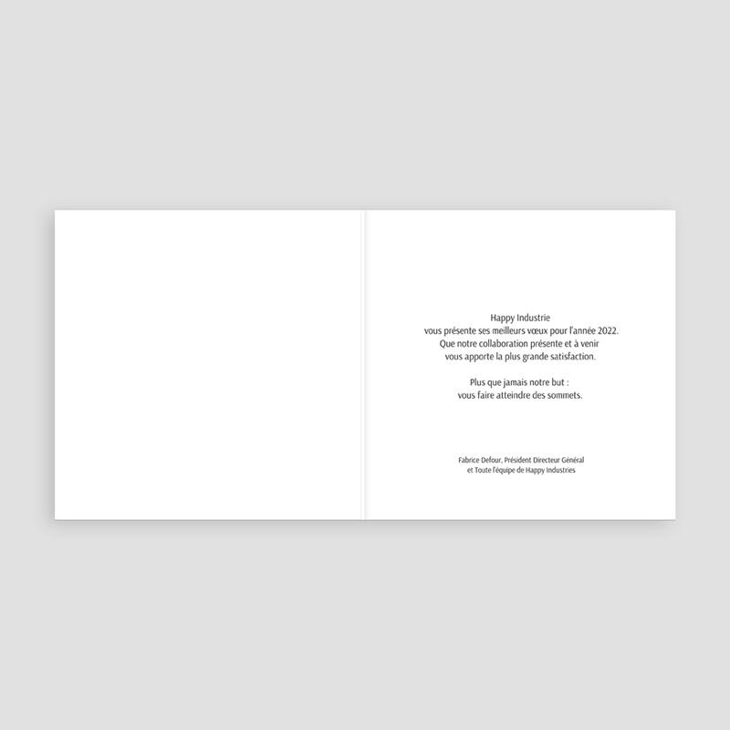 Carte de Voeux Entreprise Compteur Nouvel An pas cher