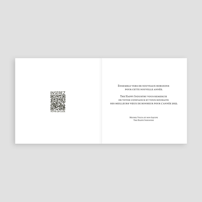 Carte de Voeux Professionnelle - Une année lumineuse 23222 thumb