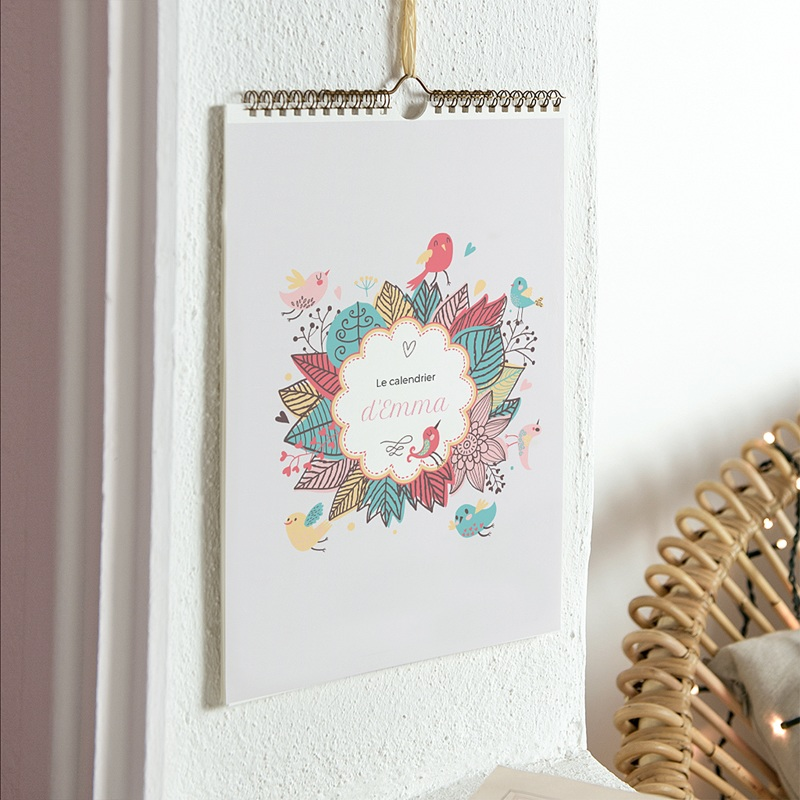 Calendrier Fille
