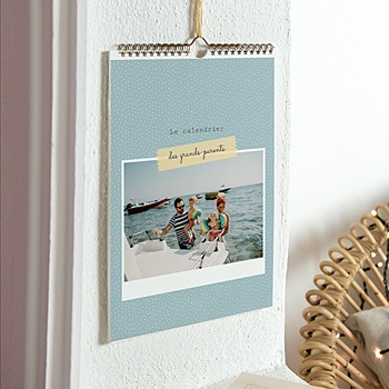 Calendrier Mural - Grands-Parents - 1