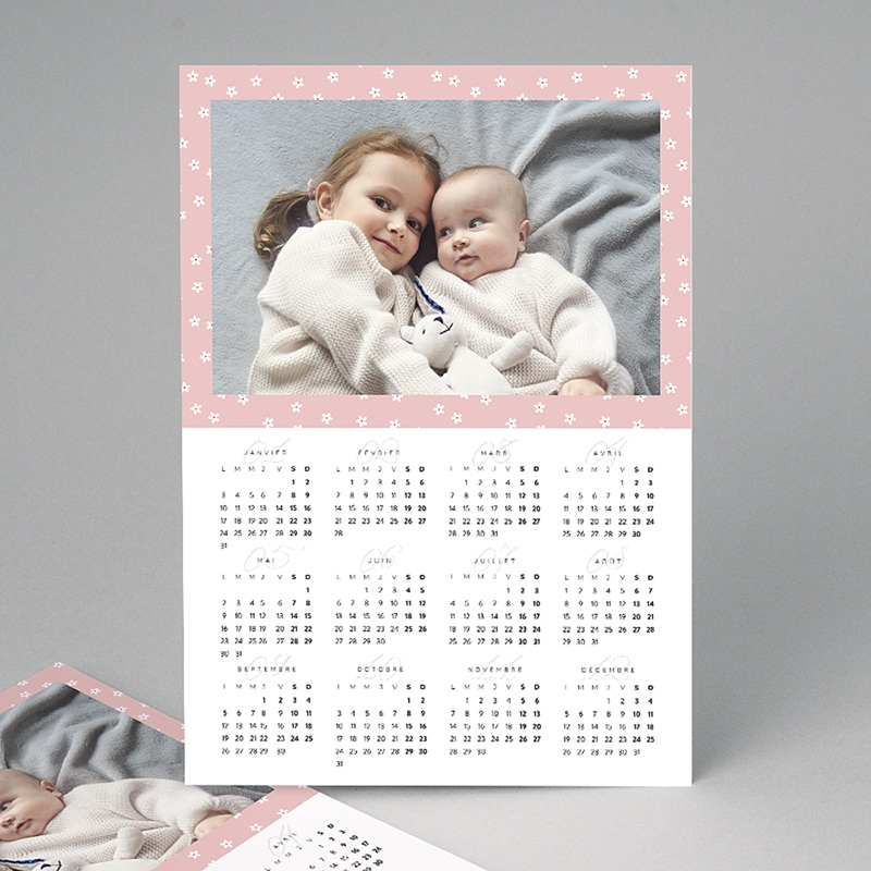 Calendrier Monopage - Floral 23380 thumb