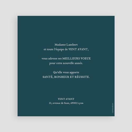 Cartes de Voeux Professionnels - Couronne de Noël 23479 preview