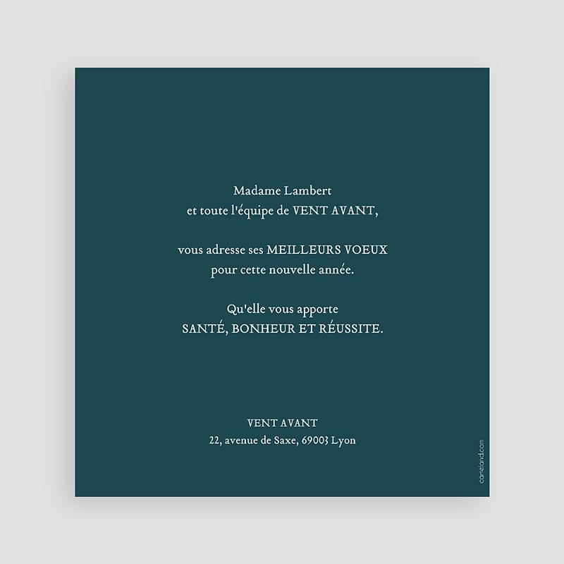 Carte de Voeux Professionnelle - Couronne de Noël 23479 thumb