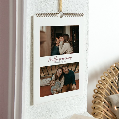 Calendrier Photo 2018 - Mille souvenirs 23545 thumb