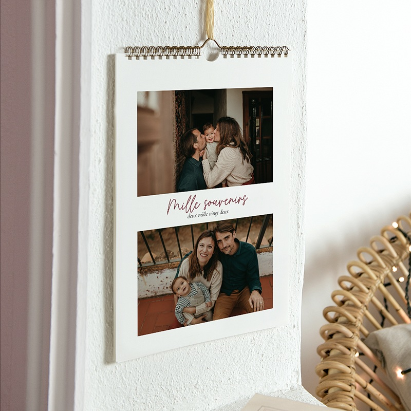 Calendrier Photo 2019 - Mille souvenirs 23545 thumb