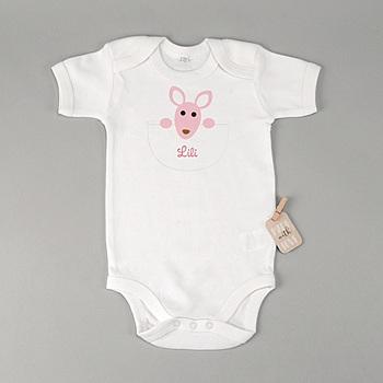 Body bébé - Kangourou Fille - 1