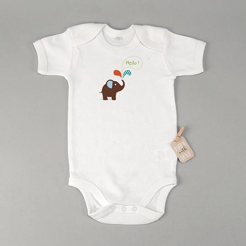 Body bébé - Eléphantine 23580