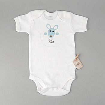 Création body bébé kangourou - garçon