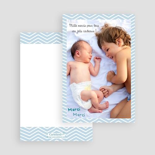 Carte remerciement naissance garçon Grand frère gratuit