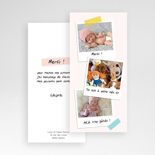 Remerciements Naissance Fille - Merci Pola 23635 thumb