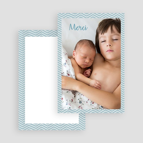 Carte Remerciement Naissance Fille Grande Soeur gratuit
