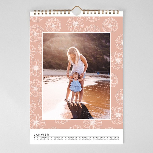 Calendrier Photo 2018 - Esprit floral 23707