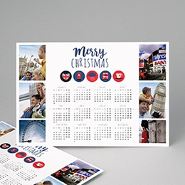 Calendrier Loisirs Calendrier Anglais
