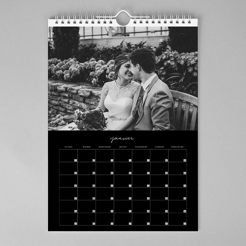 Calendrier Mural A3 Luxe