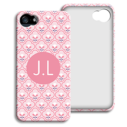 Accessoire tendance Iphone 5/5s  - Tapisserie rose - 1