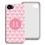 Accessoire tendance Iphone 5/5s  - Tapisserie rose 23789 thumb