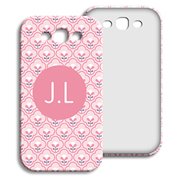 Coque Samsung Galaxy S3 - Tapisserie rose - 1