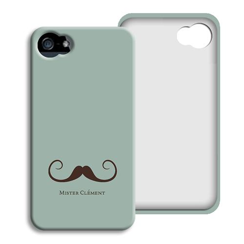 Coque Iphone 4/4s personnalisé - Gentleman 23816