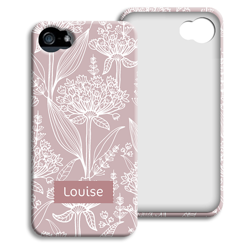accessoire tendance iphone 5 5s fleurs anciennes. Black Bedroom Furniture Sets. Home Design Ideas