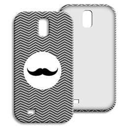 Coque Samsung Galaxy S4 - Chevrons Blancs - 1