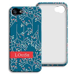 Accessoire tendance Iphone 5/5s  - Fleurs de Noël - 1