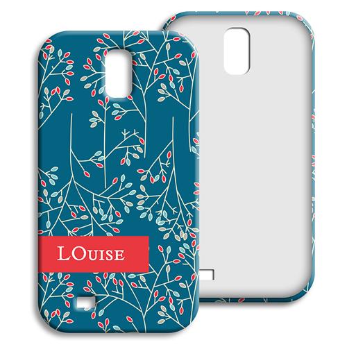 Coque Samsung Galaxy S4 - Fleurs de Noël 23873
