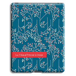 Coque iPad 2 - Fleurs de Noël - 1