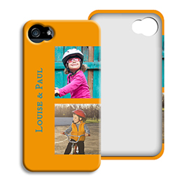 Coque Iphone 4/4s personnalisé - Beaux souvenirs - 1