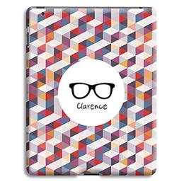 Coque iPad 2 - Carreaux et Accessoire - 1