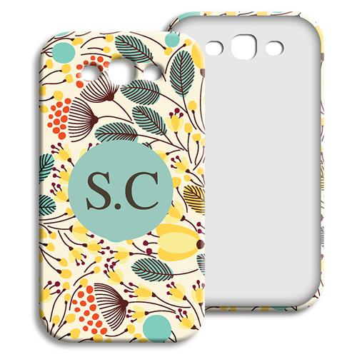 Coque Samsung Galaxy S3 - Fleurs jaunes 23922