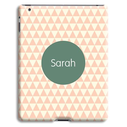 Coque iPad 2 - Chevrons Roses 23964