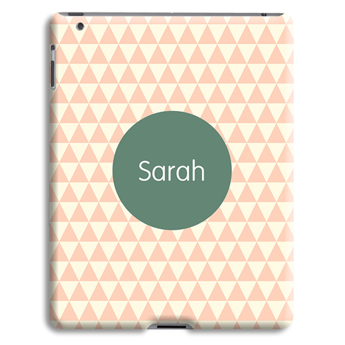 Coque iPad 2 - Chevrons Roses 23964 thumb