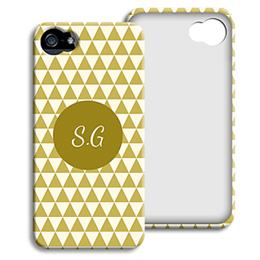 Accessoire tendance Iphone 5/5s  - Chevrons d' automne - 1