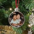 Cadeau Personnalisé - Boule de Noël Photo - 3108