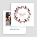 Carte de Voeux 2019 - Couronne de Noël 24054 thumb