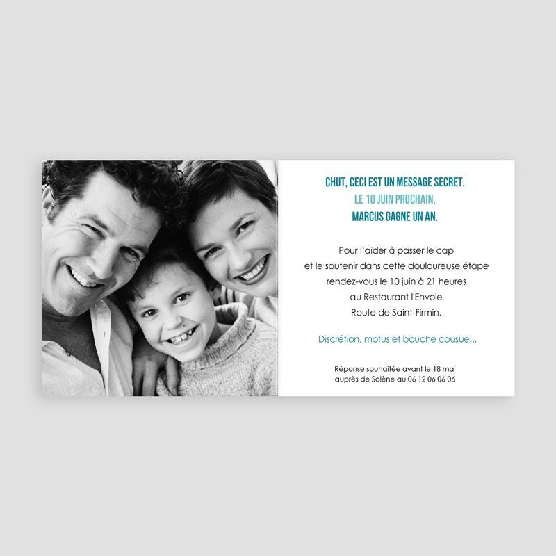 Invitation Anniversaire Adulte - Musique ! Multi-photos 24092 thumb