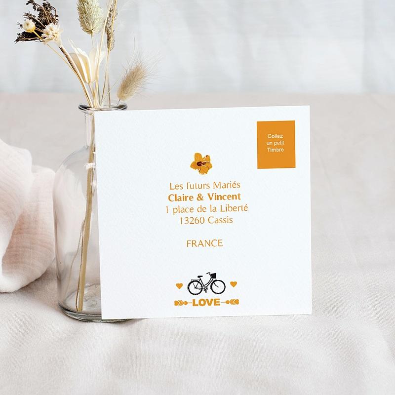 Carton Invitation Personnalisé Style Printanier pas cher