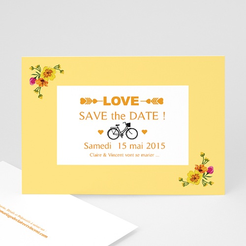 Save-The-Date - Style Printanier 24123