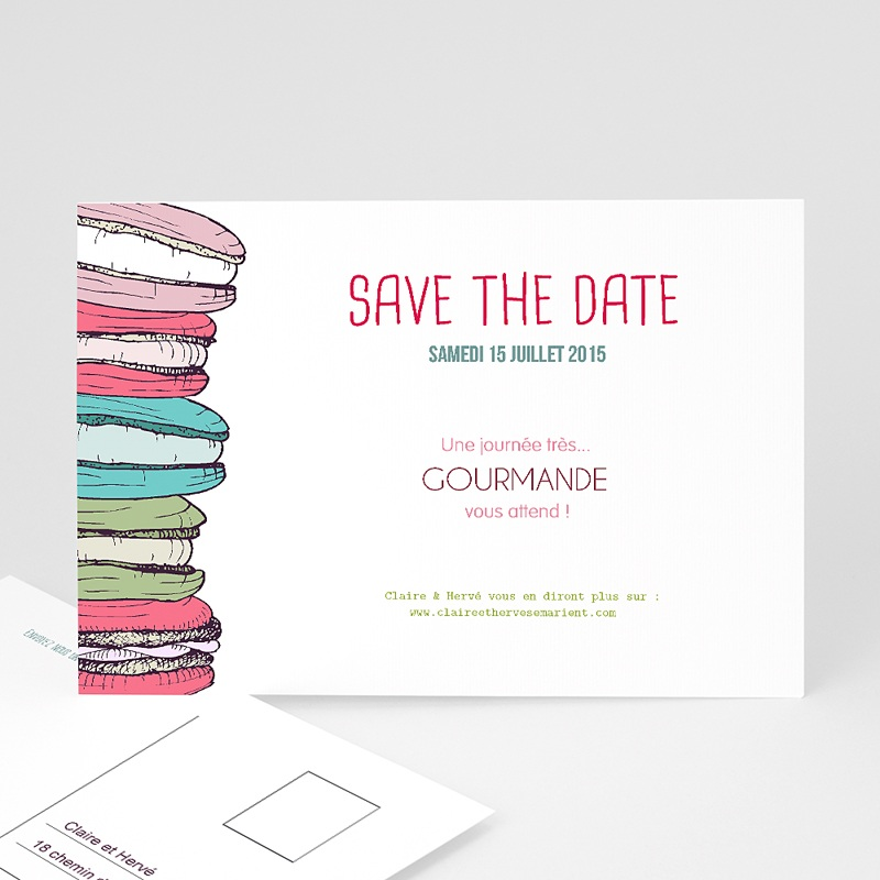 Save-The-Date - Gourmand 24153 thumb