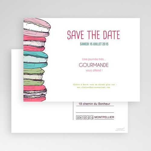 Save-The-Date - Gourmand 24155 preview