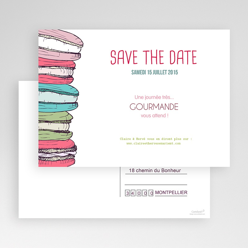 Save-The-Date - Gourmand 24155 thumb